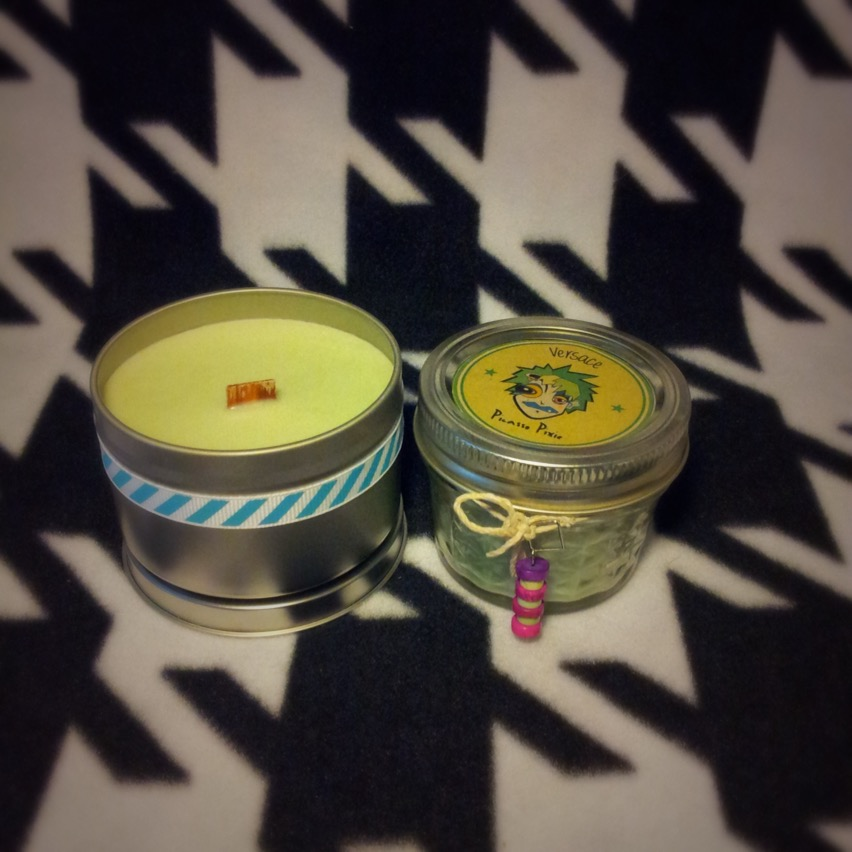 Versace for Men Scented Soy Candle - Picasso Pixie