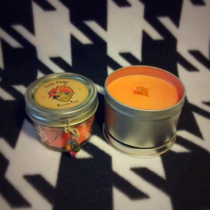 Peach Mango Scented Soy Candle - image IMG_5253-416x416 on https://www.picassopixie.com