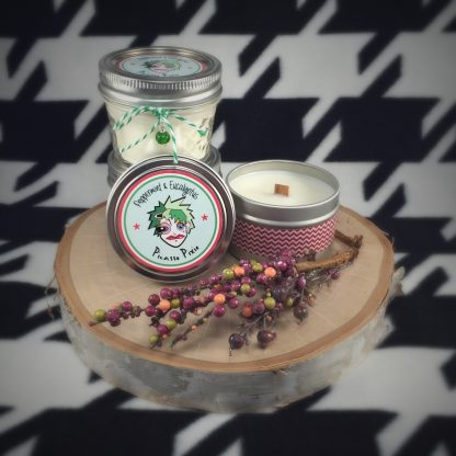 Peppermint & Eucalyptus Scented Soy Candle - image image2-416x416 on https://www.picassopixie.com
