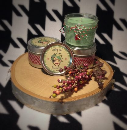 Holiday Tree Scented Soy Candle - image IMG_5859-416x424 on https://www.picassopixie.com