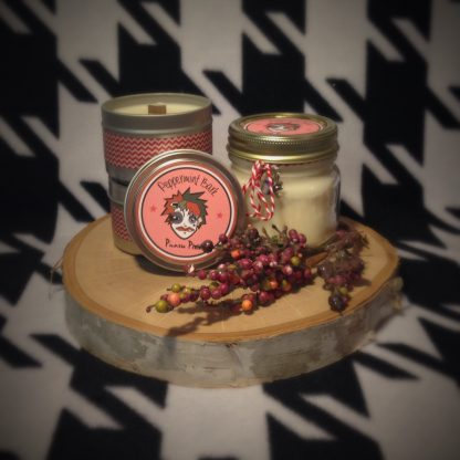 Peppermint Bark Scented Soy Candle - image IMG_5921-416x416 on https://www.picassopixie.com