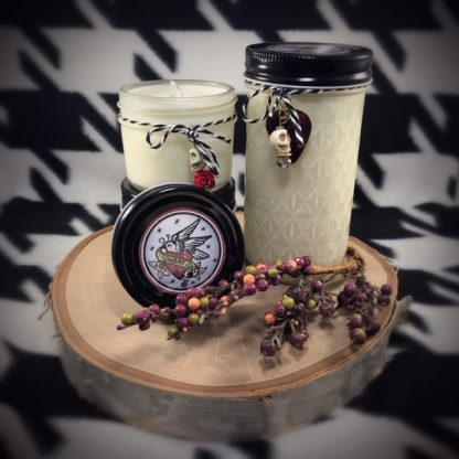 Tattooed Boy Stinx Scented Soy Candle - image  on https://www.picassopixie.com