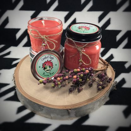 Candied Apple Scented Soy Candle - image IMG_7994-416x416 on https://www.picassopixie.com