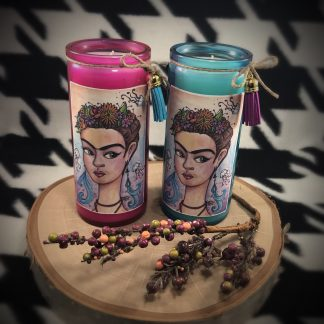 Jellyfish Frida Kahlo Art Candle - image decorative-frida-candle-324x324 on https://www.picassopixie.com