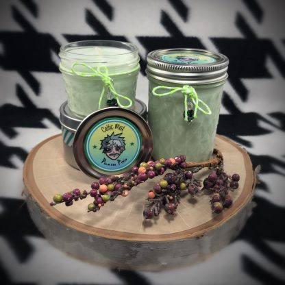Celtic Mist Scented Soy Candle - image  on https://www.picassopixie.com