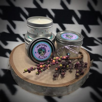 Lavender Eucalyptus Scented Soy Candle - image lavendar-eucalyptus-soy-candle-416x416 on https://www.picassopixie.com