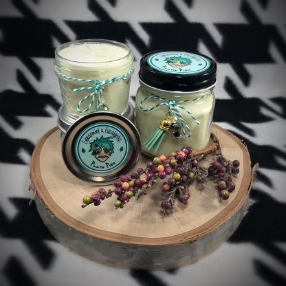 Spearmint & Eucalyptus Scented Soy Candle - image Spearmint-Eucalyptus-soy-candle-416x416 on https://www.picassopixie.com