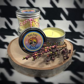Plumeria Scented Soy Candle - image  on https://www.picassopixie.com