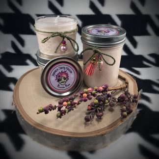 Pistachio Coffee Scented Soy Candle - image japanese-cherry-blossom-soy-candle-324x324 on https://www.picassopixie.com
