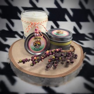Peppermint & Eucalyptus Scented Soy Candle - image honeysuckle-scented-soy-candle-324x324 on https://www.picassopixie.com