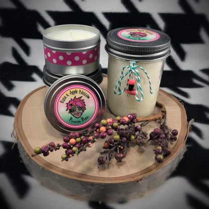Rose & Apple Blossom Scented Soy Candle - image rose-apple-blossom-soy-candle-416x416 on https://www.picassopixie.com
