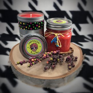 Dragons & Yum Yums Upcycled Bottle Soy Candle - image crunch-berry-soy-candle-324x324 on https://www.picassopixie.com