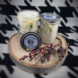 Dragons & Yum Yums Upcycled Bottle Soy Candle - image white-sage-lavender-soy-candle-324x324 on https://www.picassopixie.com