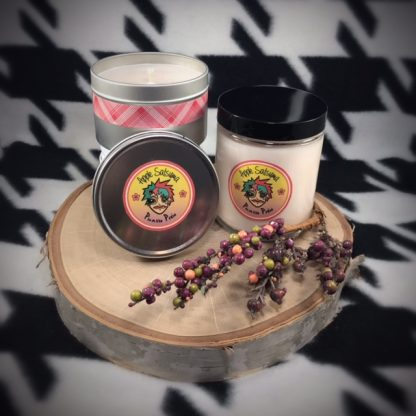 Apple Satsuma Scented Soy Candle - image  on https://www.picassopixie.com