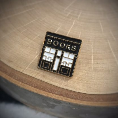 Book Store Fashion Enamel Pin - image  on https://www.picassopixie.com
