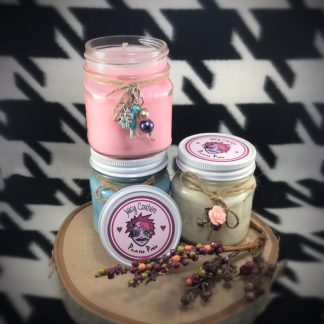 Unicorn Farts Scented Soy Candle - image  on https://www.picassopixie.com