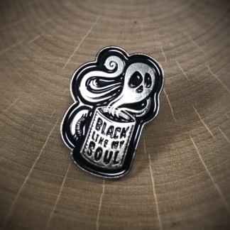 Coffee Black Like My Soul Fashion Enamel Pin - image enamel-pin-324x324 on https://www.picassopixie.com