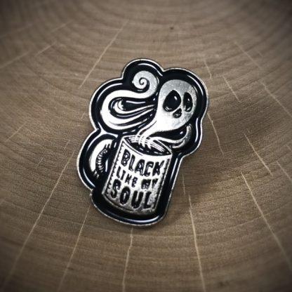 Coffee Black Like My Soul Fashion Enamel Pin - image enamel-pin-416x416 on https://www.picassopixie.com