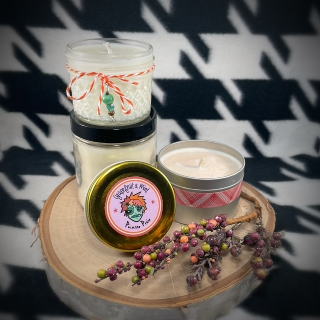 Pumpkin Chai Scented Soy Candle - image  on https://www.picassopixie.com