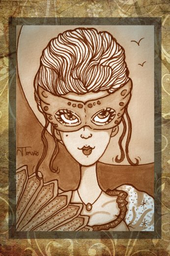 Marie Antoinette Art Print - image MarieAnt on https://www.picassopixie.com