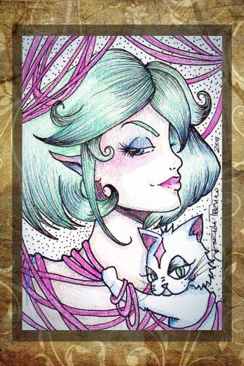 Sassy Katz Art Print - image SassyKatz on https://www.picassopixie.com